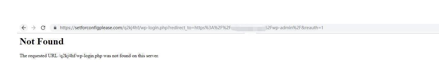 网站后台被跳转到陌生网站。